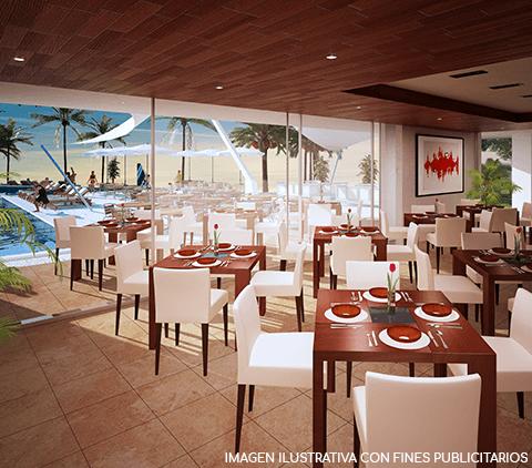 Villa Brisa web restaurante casa club