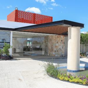 Entrada Casa Club Sotavento Villa Brisa